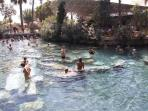 Therapeutic Hot Water Cleopetra Pools, Pamukkale