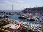 Monaco Port Hercules - 5 minutes walk from apartment