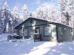 A Winter Wonderland at the Cottage