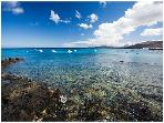 Lots of opportunities for snorkelling in shallow waters
