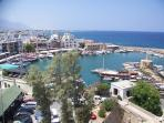 Venetian Kyrenia Harbour from Kyrenia Castle
