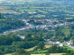 Llandeilo from the south, the 'coolest town in Wales'