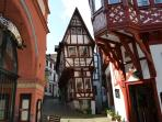 Enjoy the wonderful buildings of Bernkastel-Kues