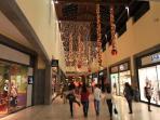 Madeira Forum shopping centre at Christmas