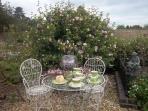 Walled Garden - Cream teas at Langley Green
