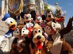 Disneyworld in Orlando -- an easy day trip.
