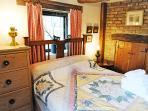 'Pink' double bedroom, also on ground floor