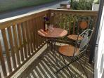 Enjoy the afternoon and evening sunshine on the deck