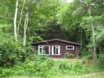 Baillie chalet, secluded woodland setting for a peaceful get away.