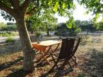 Giardini di Marzo - breakfast place outside