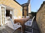 The wonderful sun terrace