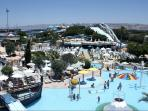 Water-park, great joy for kids and grown-ups.