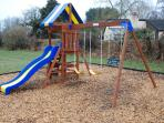 The playground for the younger members fo your family