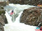White water Kayaking on the River Etive, 25 minutes