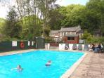 Enjoy the fabulous heated swimming pool