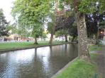 Views of the River in Bourton-on-the-Water
