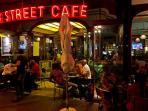 Longstreet nightlife at few minutes walk