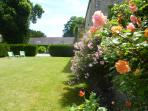 The rose garden of Spring Cottage