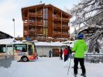 Ski-in Ski-out apartments