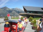 Vallnord Pal station with the summer activities