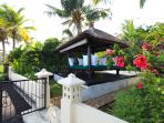 Relax house on the beach of villa Bunga Melati