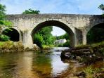 Riverside walks and fishing in season on the Liddle and the Esk
