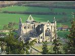 Follow the river to the famous Tintern Abbey