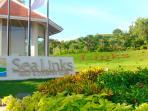Entrance to Golf course