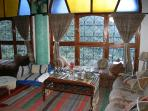 Lounge area at Dar Tassa