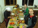 Cookery course at Dar Tassa