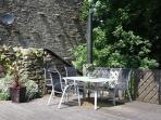 Have breakfast outside on the deck or supper with a barbecue.