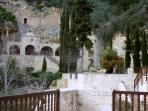 The peaceful setting of the Monastery of Agios Neofytos