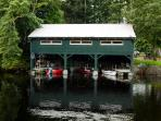 The Boathouse Restaurant and mooring
