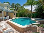 Backyard with Heated Pool/Spa and Patio