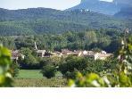 The medieval village of Saint Denis