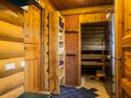 Summer of 2019: there will be istead of sauna small bedroom!