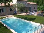 Stone Bastide and pool