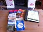 Wide range of walking books and OS maps for your adventures