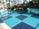 Stunning main pool set in luxurious gardens