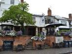 Dirty Duck Pub in Stratford-Upon-Avon centre