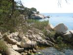 The hike pathway from Platja d'Aro to Palamos (+- 45min)