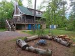 Cedar Beach Lodge is a Modern Year-Round