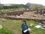 'Scratch its surface and Orkney bleeds archaeology.'