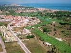An ariel view of the Oliva Nova Golf Resort