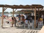 Beach bars by the Mar Menor, Lo Pagan, super value food and drink, very friendly staff.