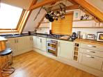 Large kitchen for all your cooking needs