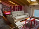 Open-space living room