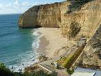 Centiannes Beach 5 minutes walk from Villa Juliana