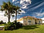 Coral Shores, ample secure parking, located on golf course. Views of lake & sunsets.