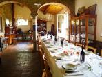 The big dining room